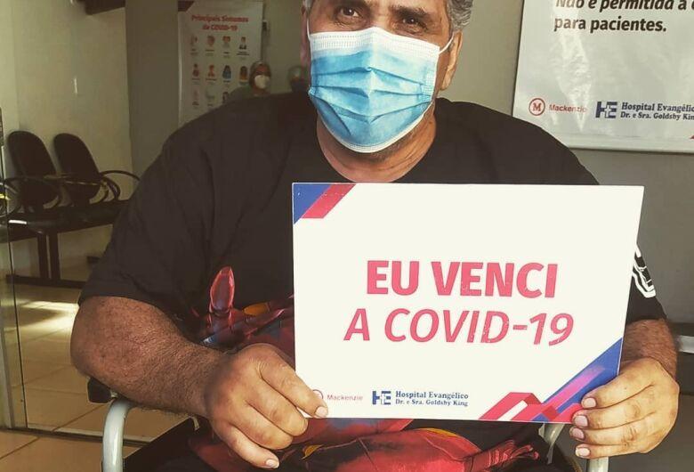 Vereador Creusimar Barbosa recebe alta após 16 dias internado por conta da Covid-19