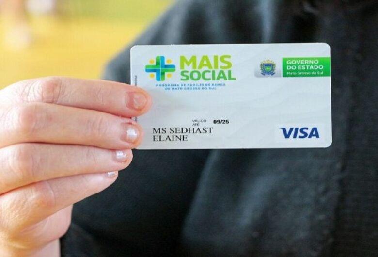 Beneficiários do Mais Social também receberão o cartão do programa pelos Correios