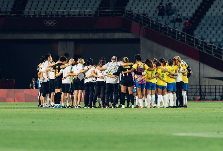Seleção feminina perde para Canadá nos pênaltis e dá adeus a Tóquio