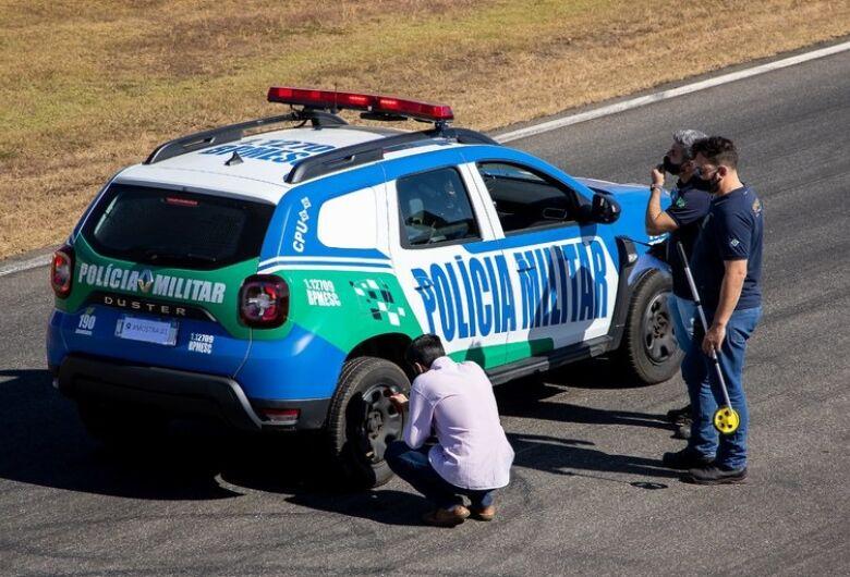 Testes contribuem para definir padrões de segurança para veículos de forças policiais