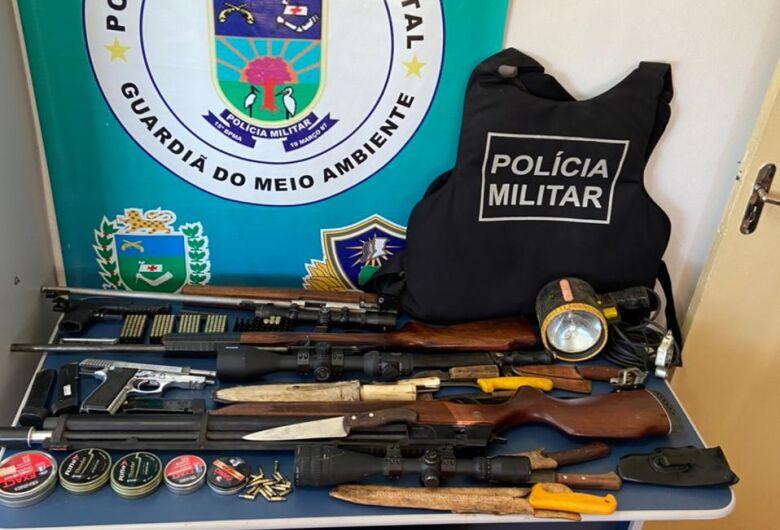 PMA autuam homem em R$ 30 mil por caça ilegal