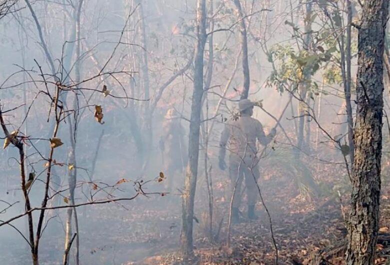 Corpo de Bombeiros monitora incêndios com imagens de satélite e amplia fiscalização em áreas de focos