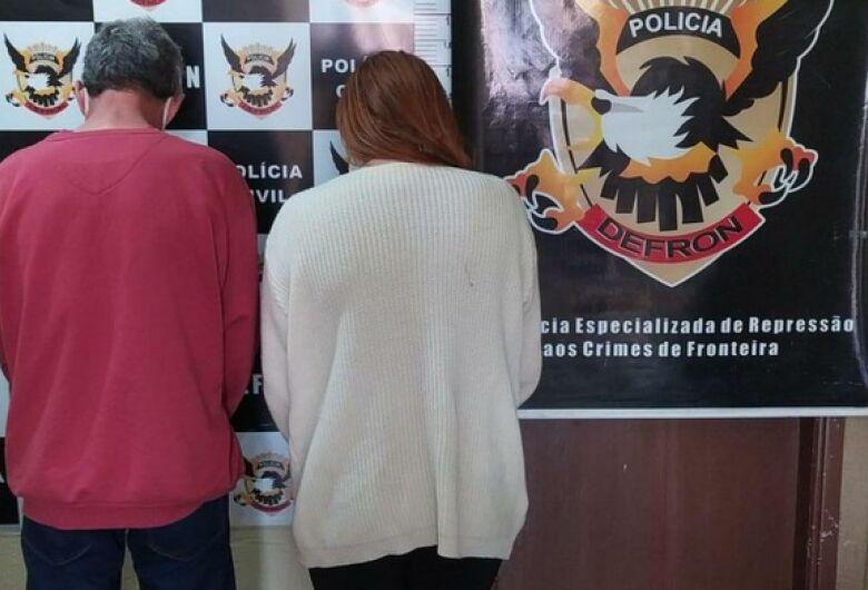 Casal do tráfico é preso em Dourados com mais de 50 pinos de cocaína