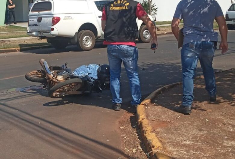 Motociclista morre em acidente na área central de Dourados