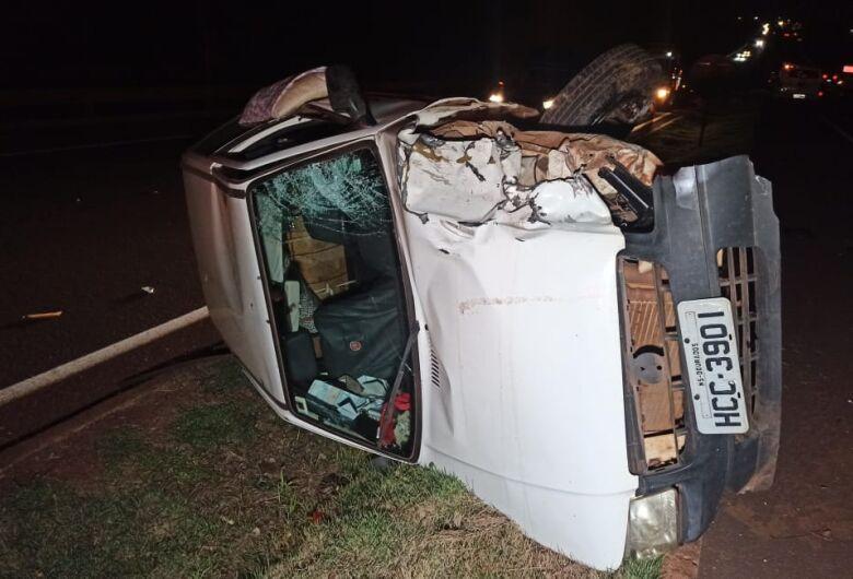 Motociclista morre na BR-163 após colidir frontalmente com carro