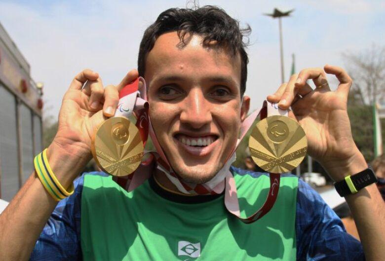 """""""Mato Grosso do Sul plantou e colheu"""", diz Yeltsin, dono de dois ouros nos Jogos Paralímpicos de Tóquio 2020"""