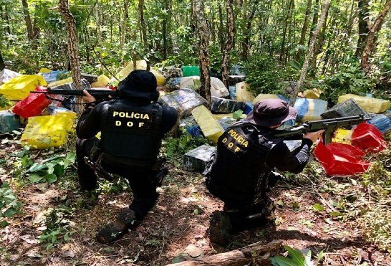 Polícia do MS apreende mais de 530 toneladas de drogas entre janeiro e agosto