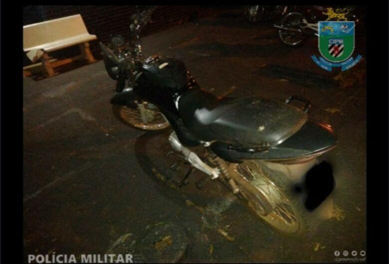 9ª Companhia da Polícia Militar recupera moto furtada