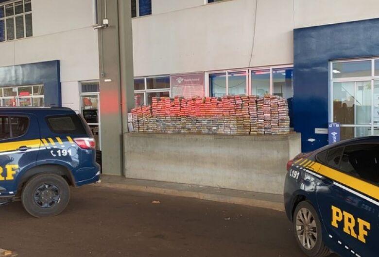 Polícia apreende carga de droga avaliada em R$ 86,5 milhões