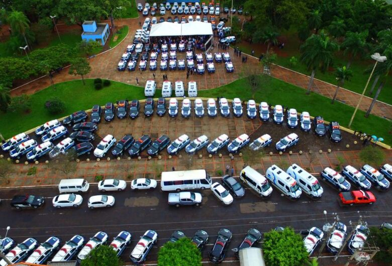 Governo do Estado investiu R$ 66,3 milhões na compra de 905 novas viaturas para a Polícia Militar