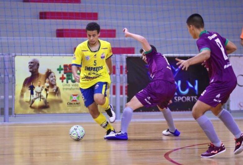 Time de Dourados não se classifica para próxima fase da Taça Brasil de Futsal Sub-17