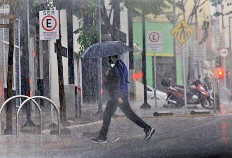 Pancadas de chuva marcam últimos dias de outubro em Mato Grosso do Sul