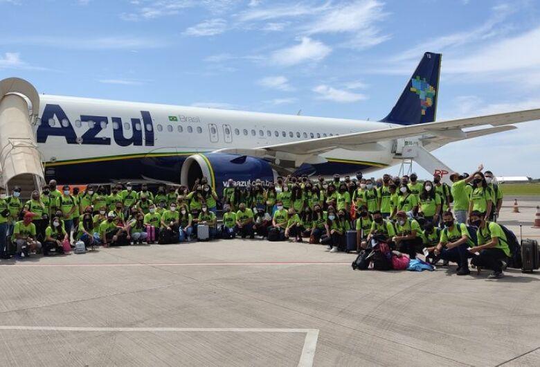 Delegação de MS já está no Rio para competir nos Jogos Escolares Brasileiros