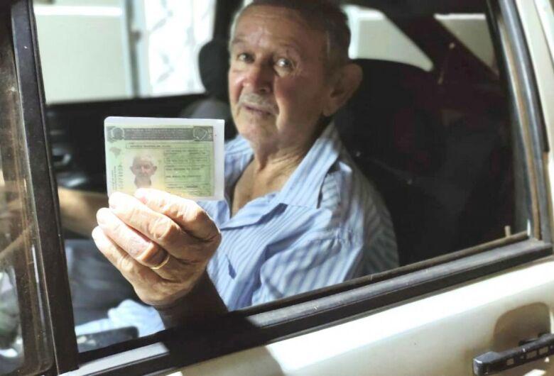 Homem de 79 anos é a pessoa mais velha do MS a conquistar a 1ª CNH