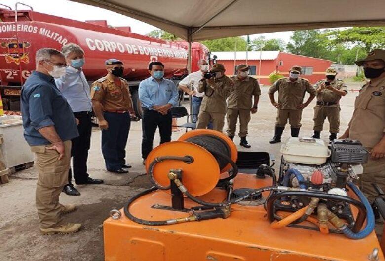 Investimentos e capacitação dos bombeiros aumentaram eficiência no combate aos incêndios