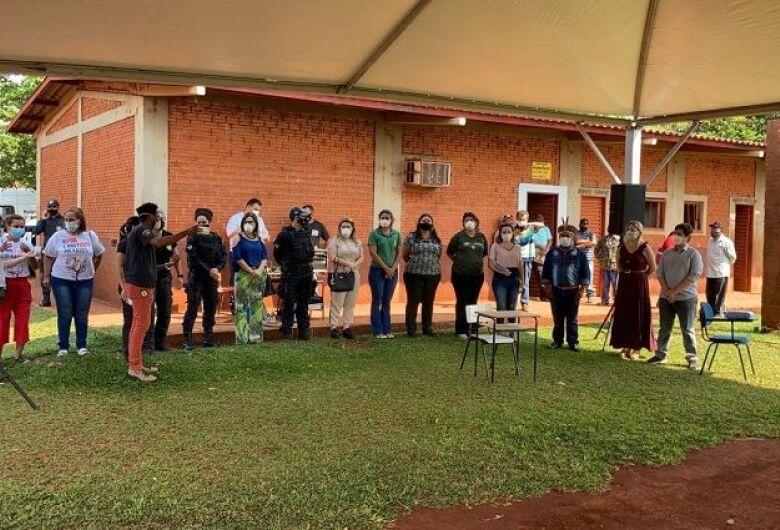 Ação de Cidadania para Prevenção e Combate à Violência contra Mulheres é realizada na Aldeia Jaguapiru