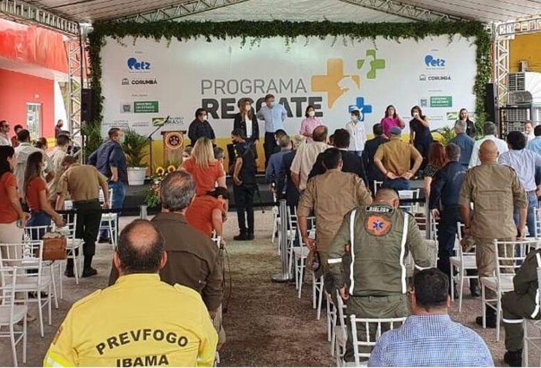 MS lança no Pantanal primeiro hospital veterinário de campanha do país