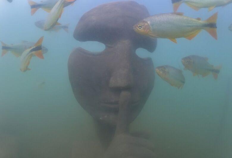 Bonito inaugura primeiro museu subaquático de água doce do mundo