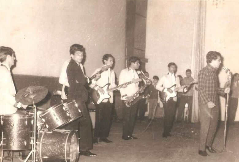 """Swing Blue"""", conjunto que marcou o final dos anos 60 em Dourados"""