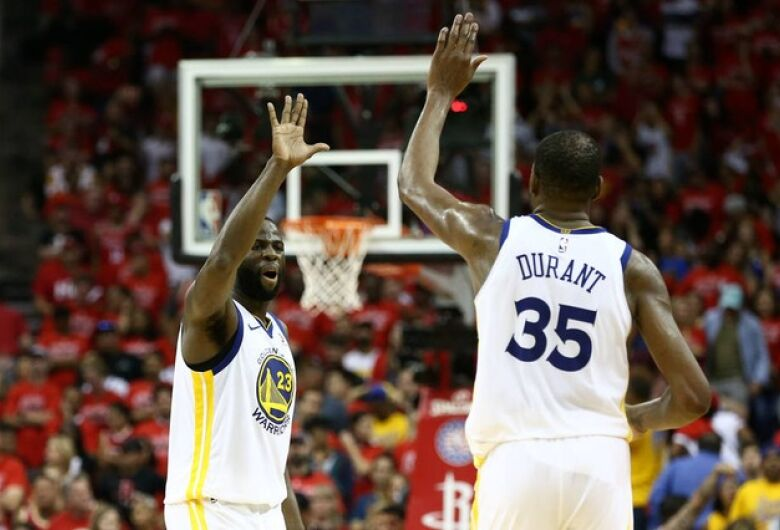Warriors vence Rockets e jogará 4ª final seguida na NBA