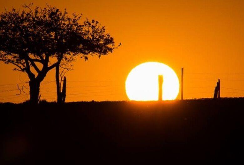 Sol predomina nesta terça-feira em Mato Grosso do Sul