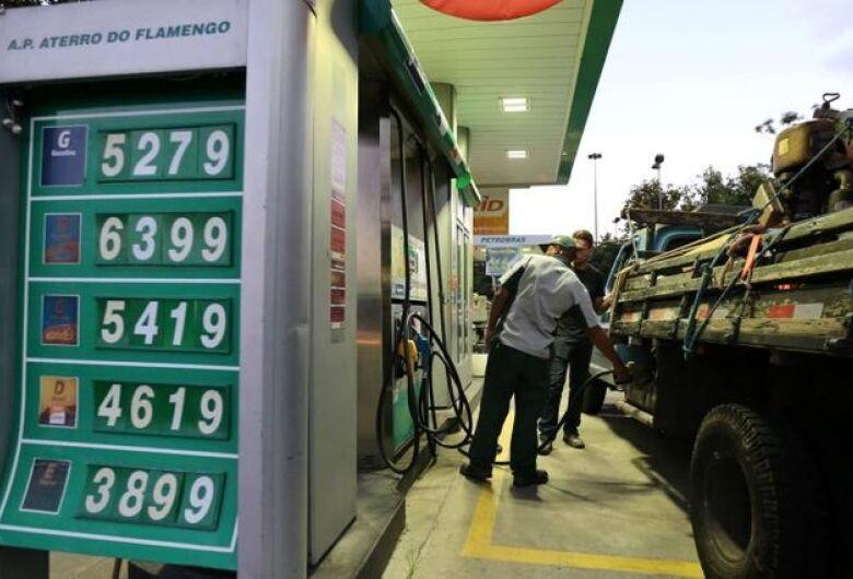 Preço da gasolina já acumula aumento de 9,42% em maio; novo aumento hoje de 0,74%