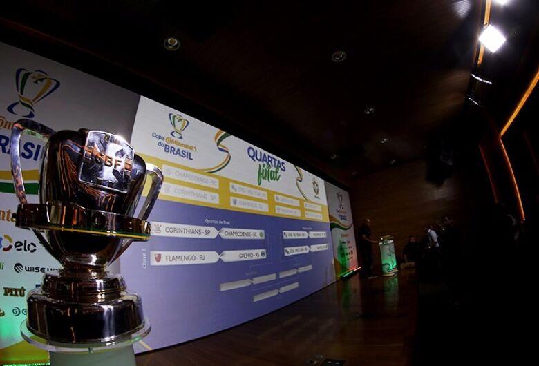 Quartas de final da Copa do Brasil terá Flamengo x Grêmio