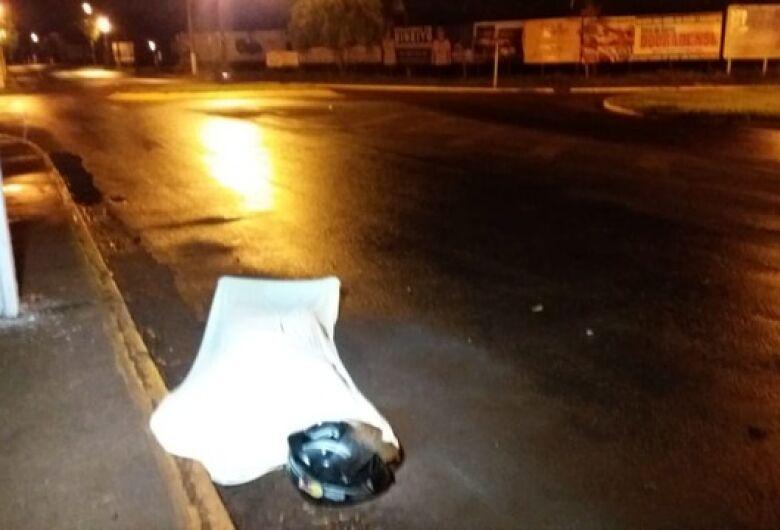 Identificado motociclista morto em acidente na Coronel Ponciano