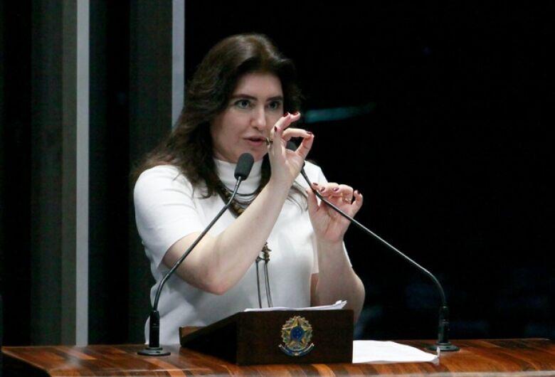 Simone Tebet cobra do Congresso resultado para conter o crime organizado