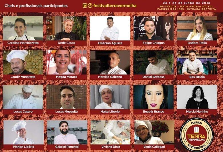 Festival Gastronômico Terra Vermelha acontece neste fim de semana em Dourados