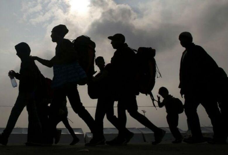 Mundo tem recorde de pessoas deslocadas