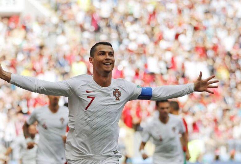 Cristiano Ronaldo garante vitória de Portugal sobre Marrocos por 1 x 0