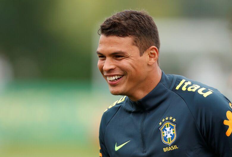 Thiago Silva será capitão da seleção brasileira contra Costa Rica