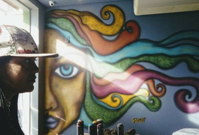 Grafiteira encerra projeto em Campo Grande