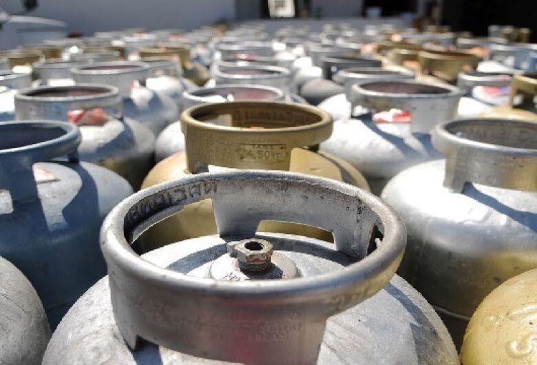 Preço médio do gás de cozinha em Dourados é de R$ 75,35, revela Procon