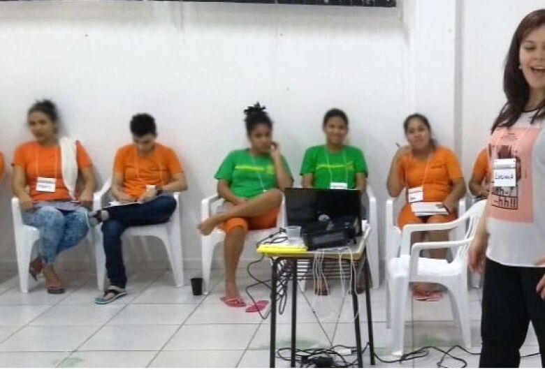 Parceria entre Agepen e Sebrae ensina empreendedorismo a detentas da capital