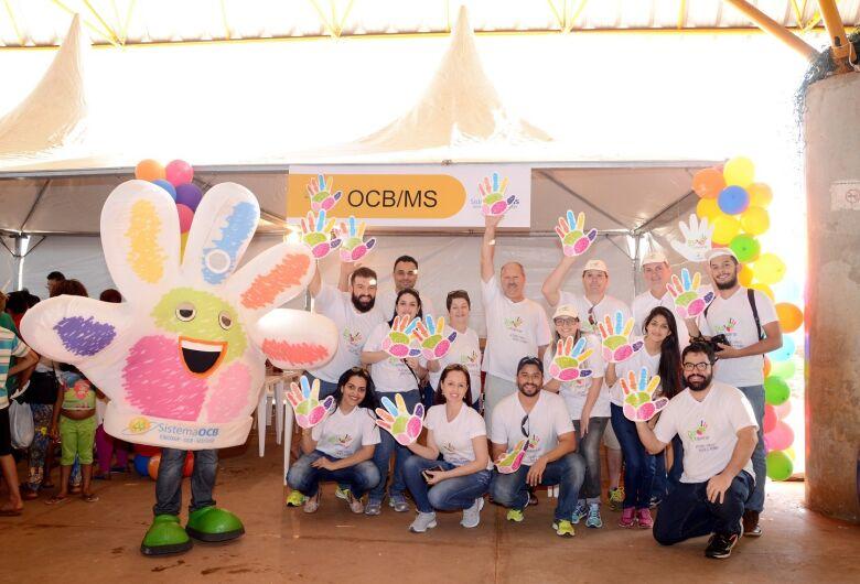 Dia de Cooperar  Cooperativas colocam a mão na massa por um Brasil mais feliz