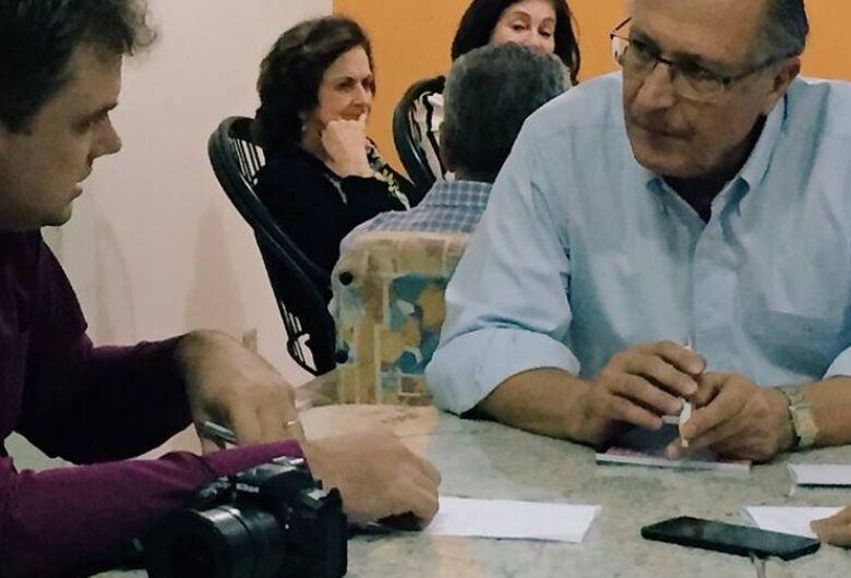 Pré-candidato, Alckmin diz ser possível dobrar a renda do brasileiro