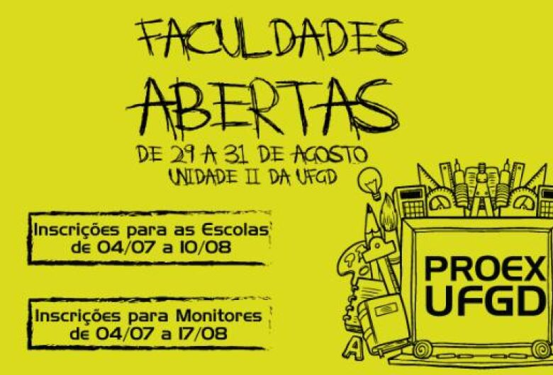 UFGD promove Faculdades Abertas em agosto