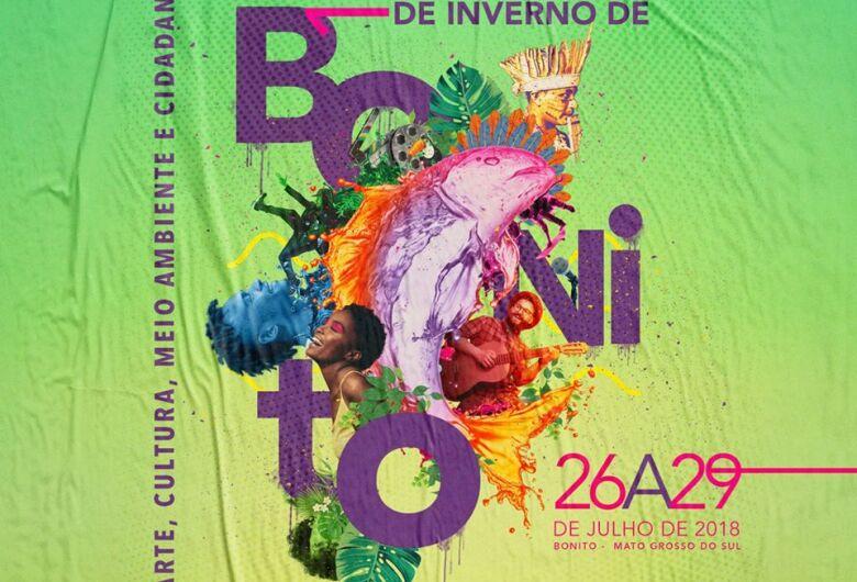 Festival de Inverno de Bonito tem programação divulgada e teatro e literatura douradense marcarão presença