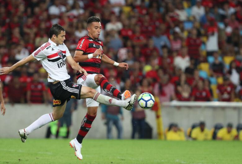 Mesmo com derrota, Flamengo segue líder após a 13ª rodada do Brasileirão
