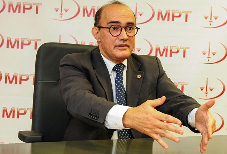 Jonas Ratier Moreno é o novo procurador do MPT/MS