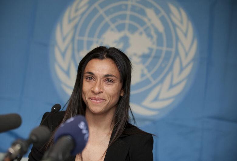 Jogadora Marta é nomeada embaixadora da ONU Mulheres