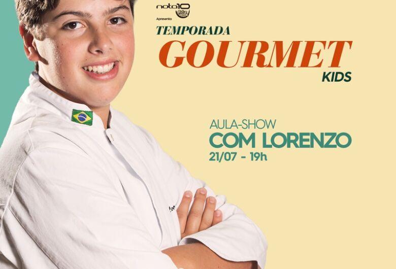 Campo Grande recebe aula-show com MasterChef Júnior Lorenzo Ravioli