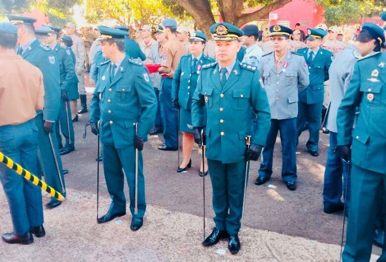 """Comandante da PM de Dourados recebe Medalha """"Imperador Dom Pedro II"""""""