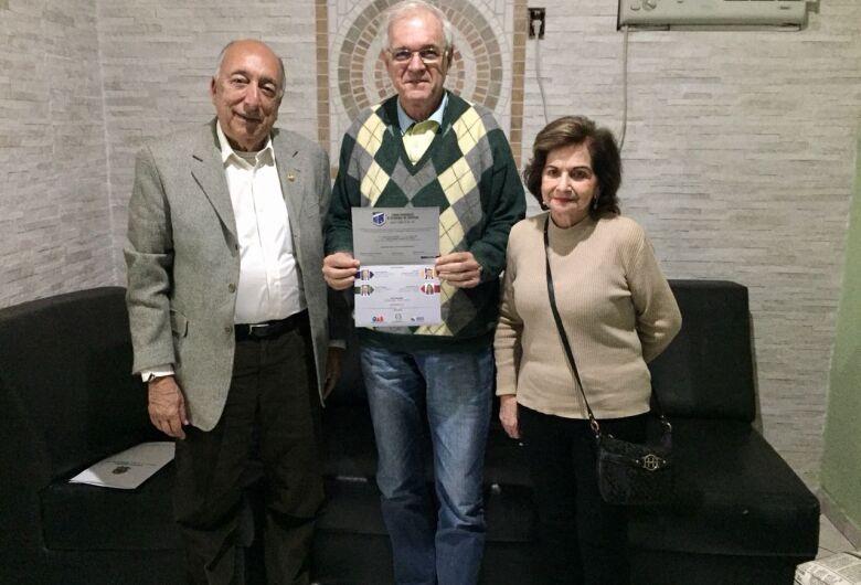 Senador Pedro Chaves faz visita ao jornal O Progresso