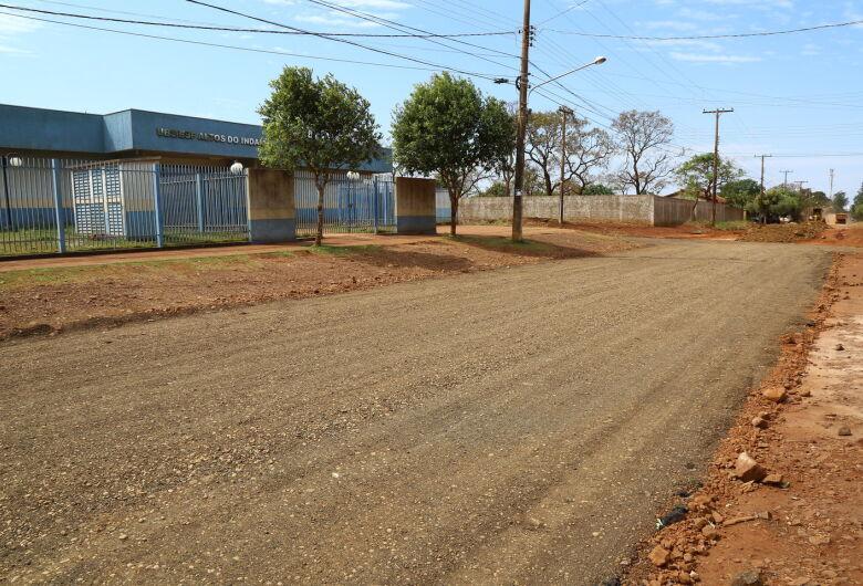 Ruas são recuperadas no Altos do Indaiá