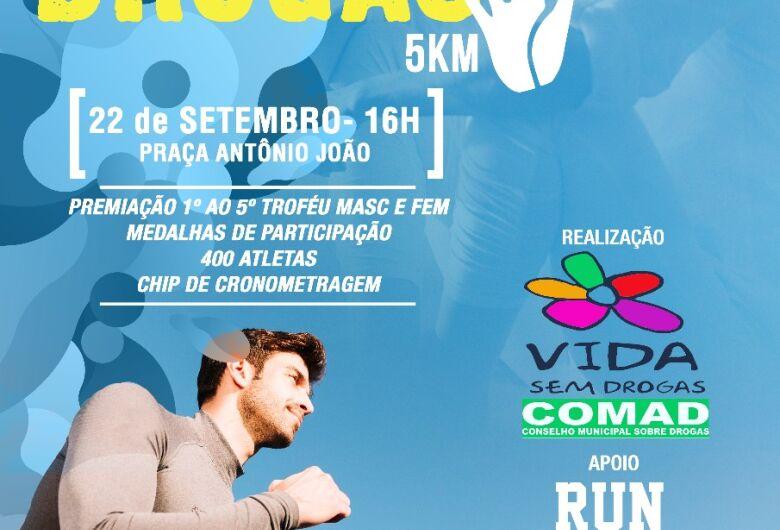 Comad realiza em setembro a 1ª Corrida e Caminhada 'Vida Sem Drogas'