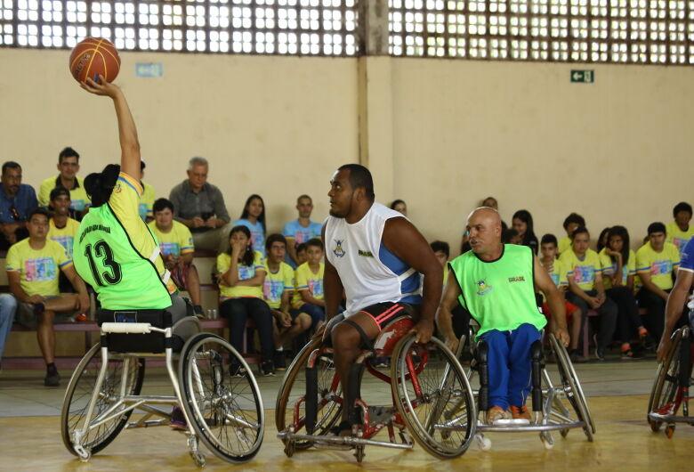 Começou nessa quinta o Festival Dourados Paralímpico
