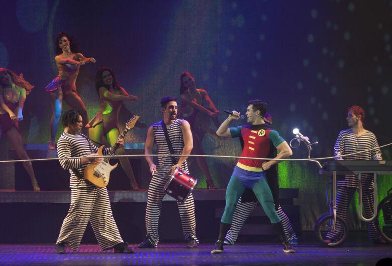 Sucesso de público e crítica, O Musical Mamonas será apresentado em Campo Grande neste domingo